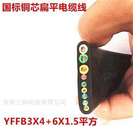 扁电缆GKFBP-6KV2绞合24芯铜导体