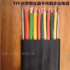 NH-YF46GVRP高压扁电缆软芯耐温70度