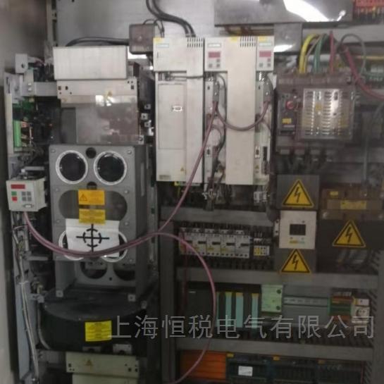 西门子变频器上电显示五横杠修复所有问题