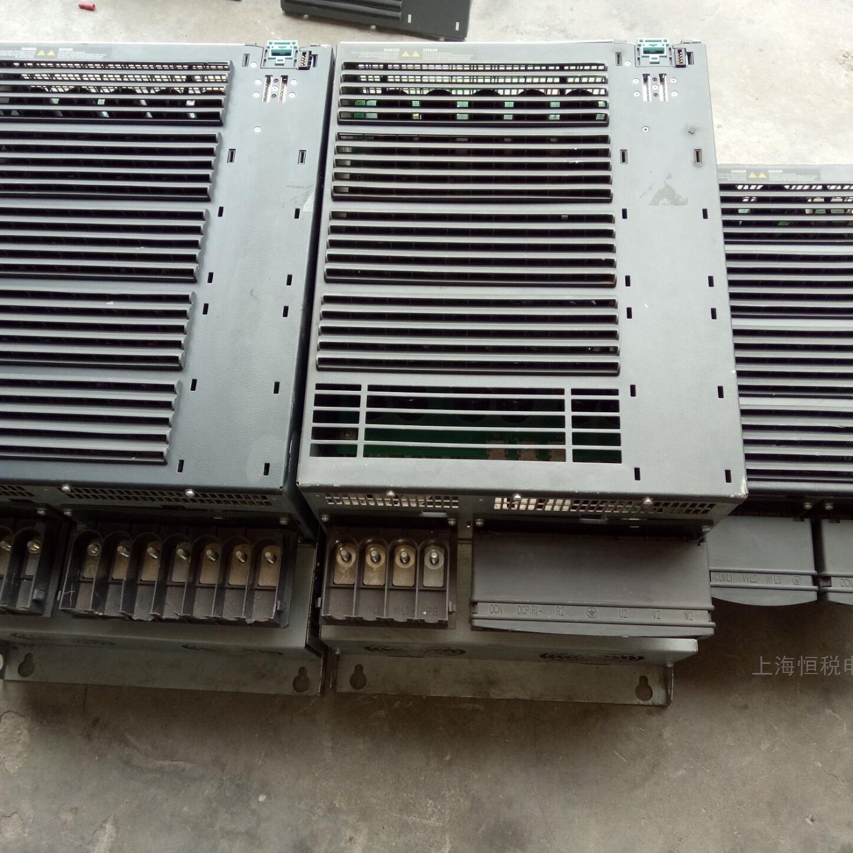 西门子G120变频器运行电机不转十年修复解决