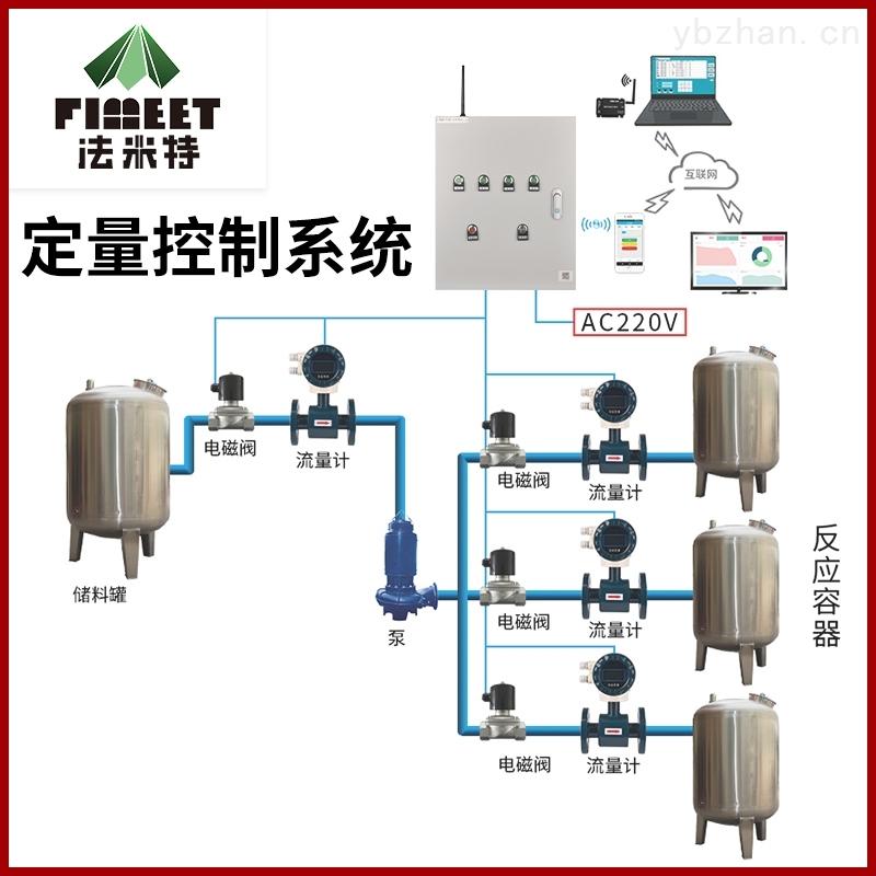 法米特不锈钢液体智能流量定量控制器