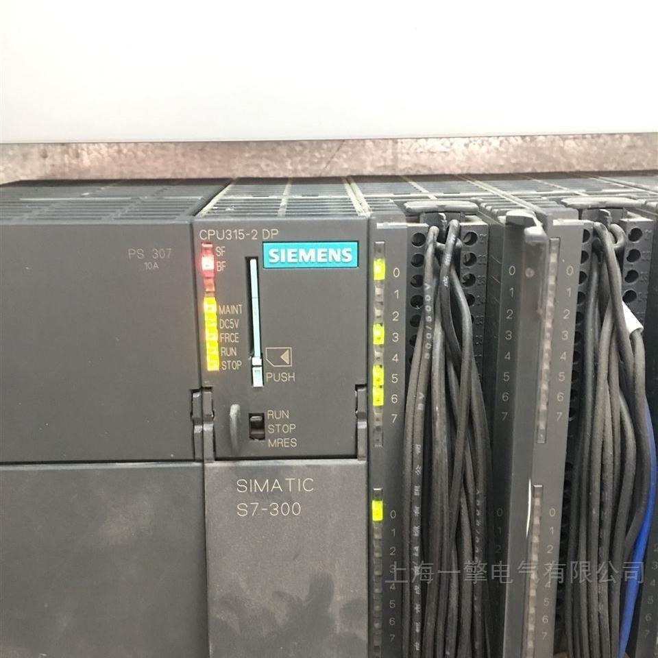 400CPU通电时所有灯全闪维修
