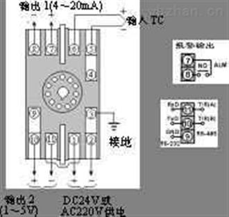 SWP201(单路)热电偶/热电阻温度变送器