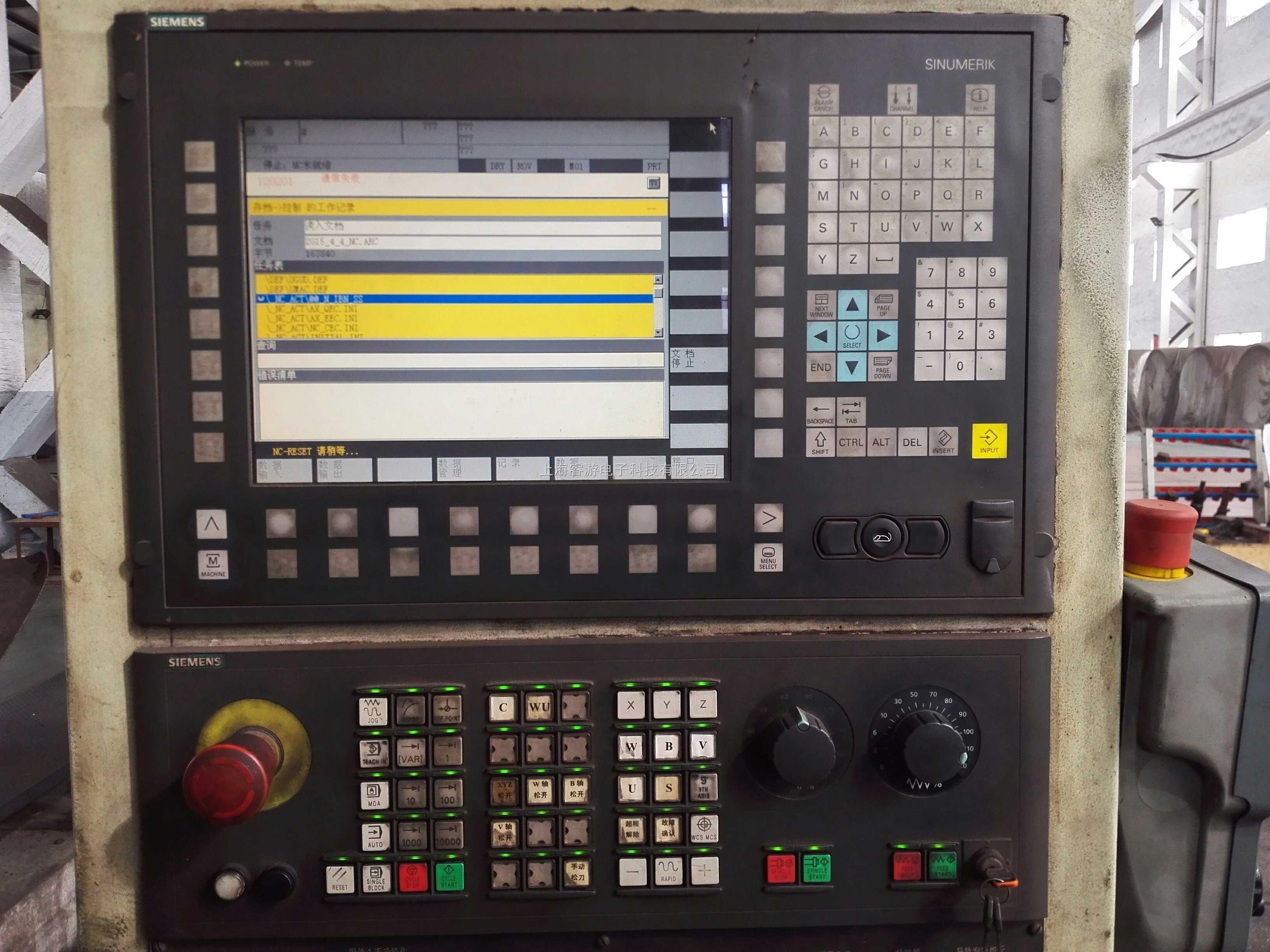 通快激光切割西门子840D伺服驱动器维修各种报警