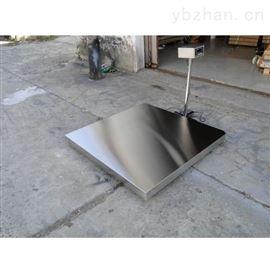 SCS食品厂5吨不锈钢地磅秤,5t防水电子地秤