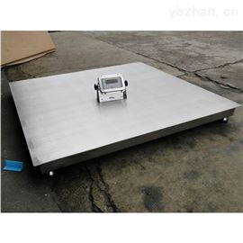 SCS-YHB2吨不锈钢电子地秤 2t防爆平台地磅秤