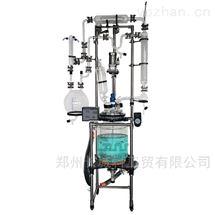中试规模的溶剂精馏回收反应釜