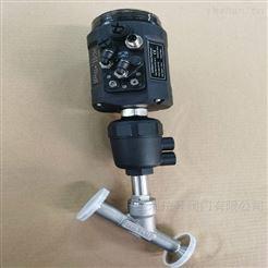 VATTEN调节型气动角座阀 山东不锈钢调节角阀