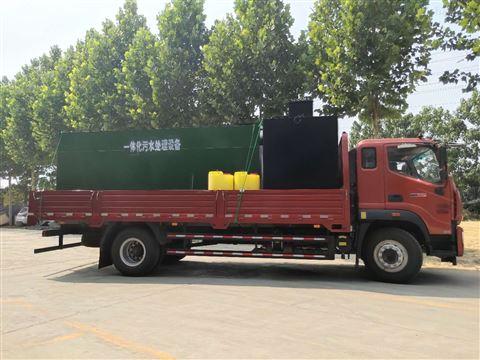 50T/D地埋式污水处理设备尺寸