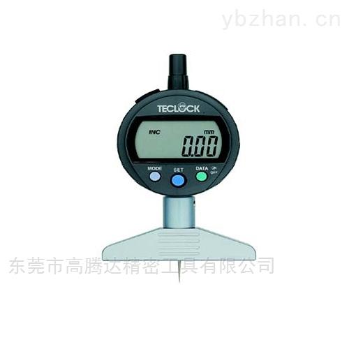 本TECLCOK得乐数显标准型深度计深度测量