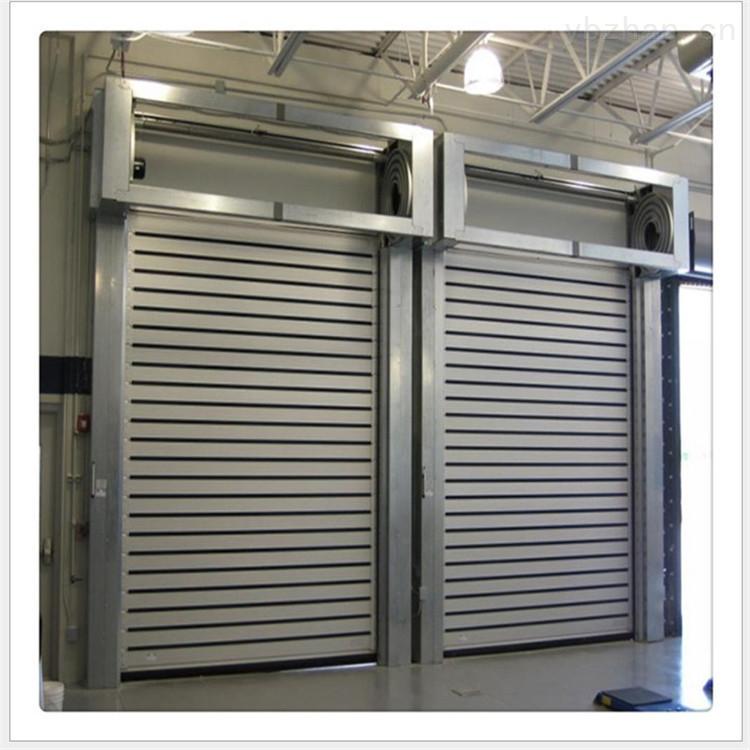 铝合金快速门厂家 硬质高速门安装 兴德门业