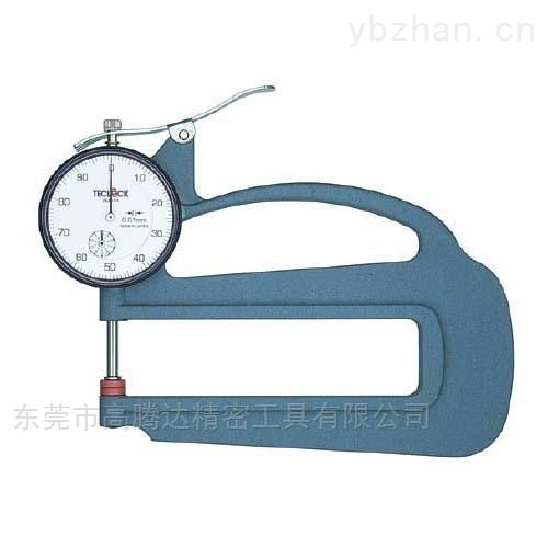日本TECLCOK得乐表盘式厚度表厚度测量仪