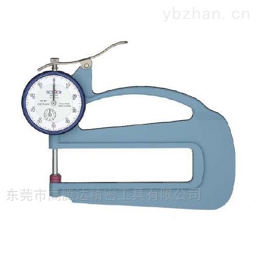 表盘式厚度表日本TECLCOK得乐测度测量仪