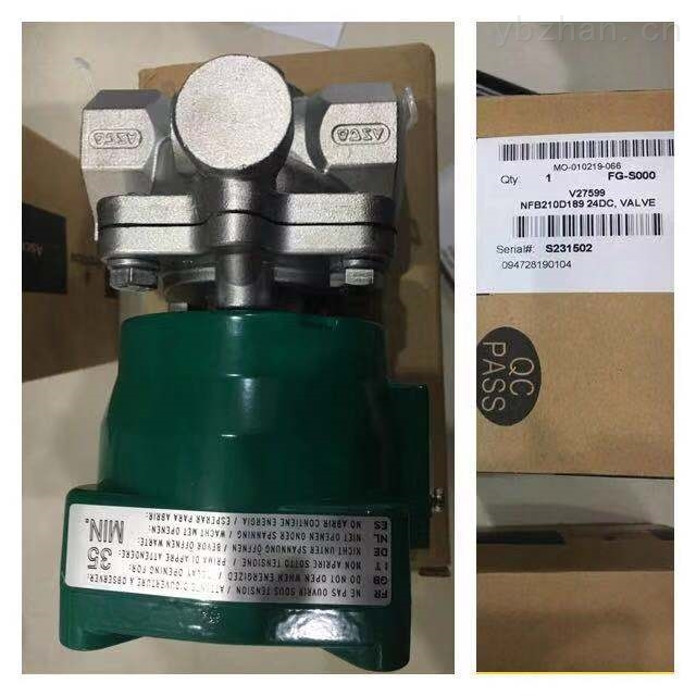 ASCO燃烧控制电磁阀,EF8320G184