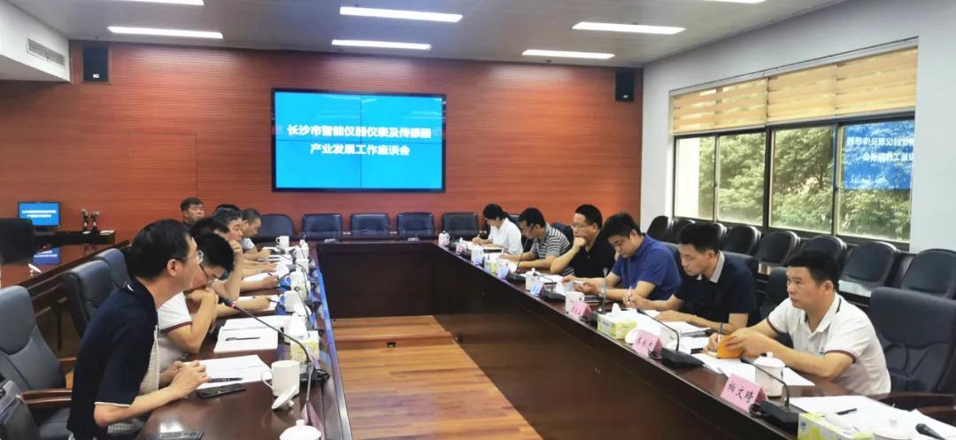 湖南長沙智能儀器儀表及傳感器產業發展工作座談會召開