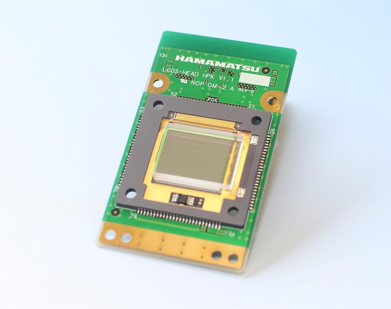 濱松研發出耐光性400GW/cm2工業空間光調制器