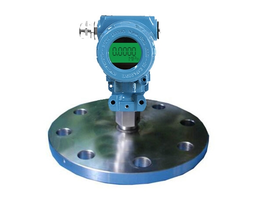 工业齐平膜显示型压力变送器