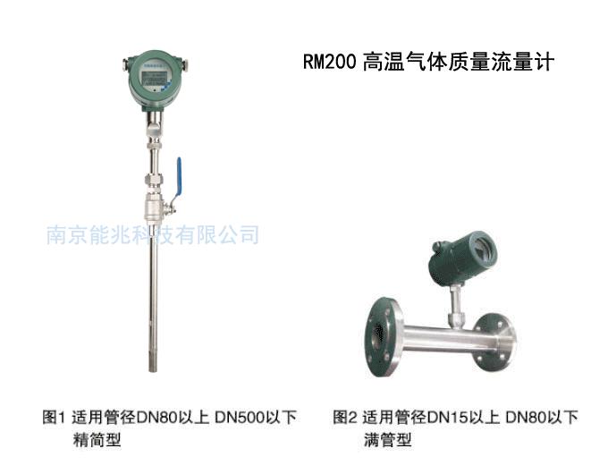 高温热式气体质量流量计 RM200