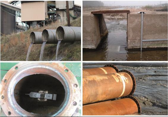 市政雨水污水合流管道流量计