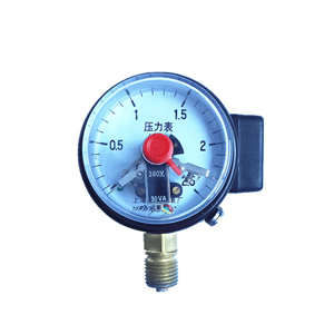 YXC-60磁助式電接點壓力表