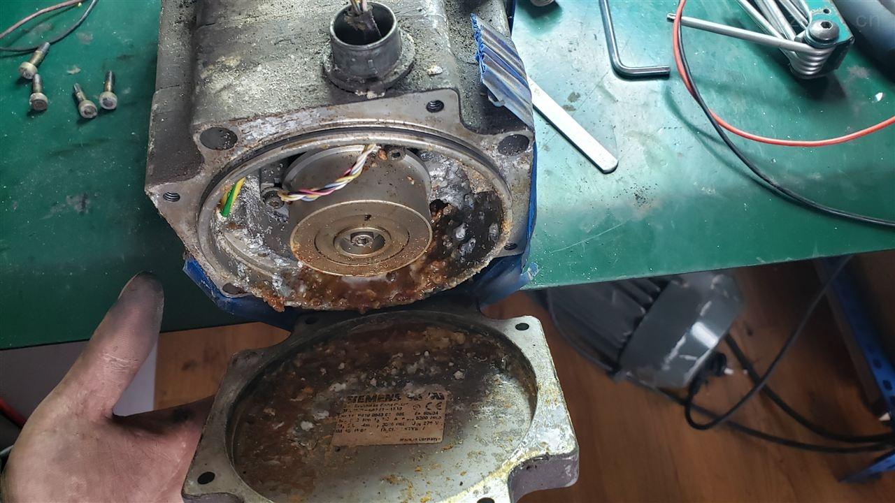 连云港西门子828D系统主轴电机更换轴承-当天检测提供维修