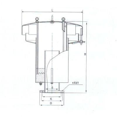 不锈钢液压安全阀结构图