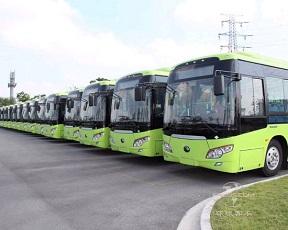 追日电气一体式充电机助力吉林新能源公交车