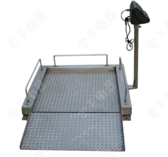 手推轮椅秤