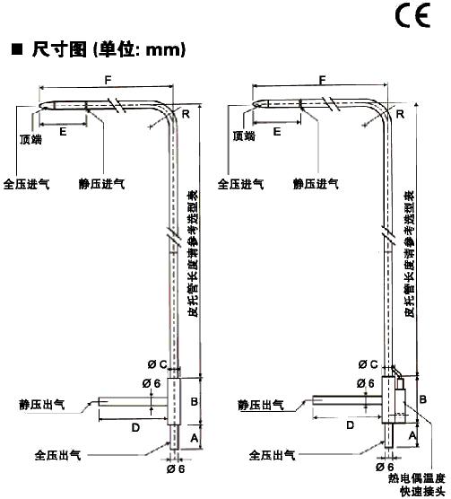 L型皮托管-法国KIMO
