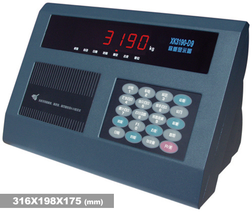 xk3190-d9电子秤