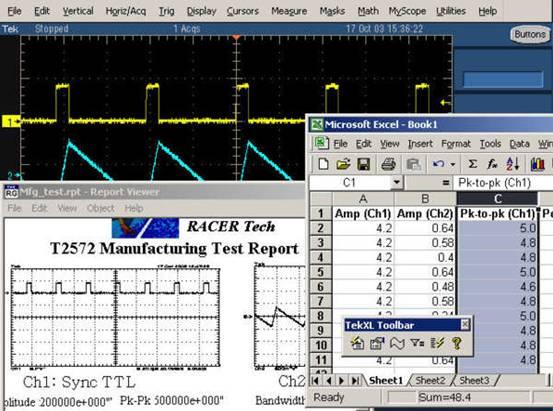 TDS5054B数字荧光示波器