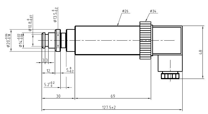 GPD35矿用压力传感器